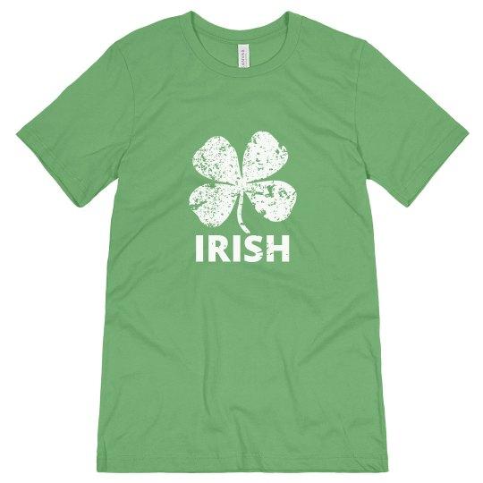 Irish Distressed Mens T
