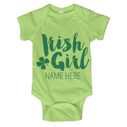 Irish Girl Custom Onesie