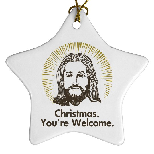 Jesus Christmas Ornament