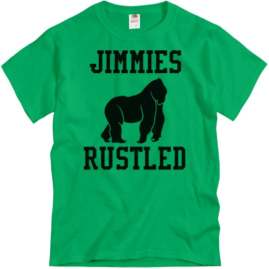 Jimmies Rustled Gorilla