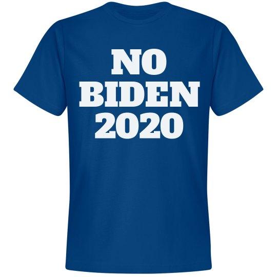 Joe, er, No Biden 2016