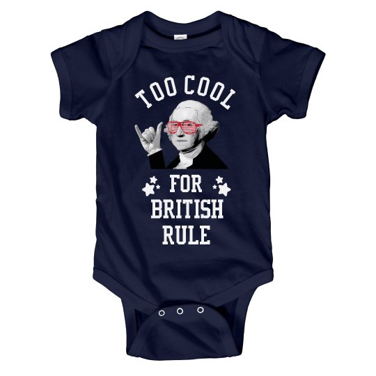 July 4th Funny Baby