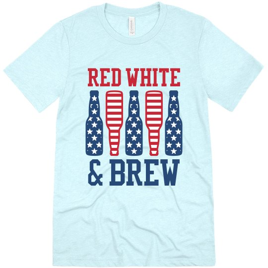 July 4th Red White and Brew