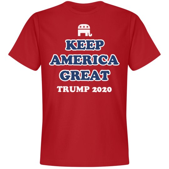 Keep America Great Trump Shirt 2020