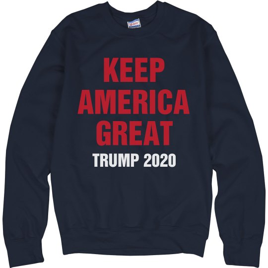 Keep America Great USA Pullover