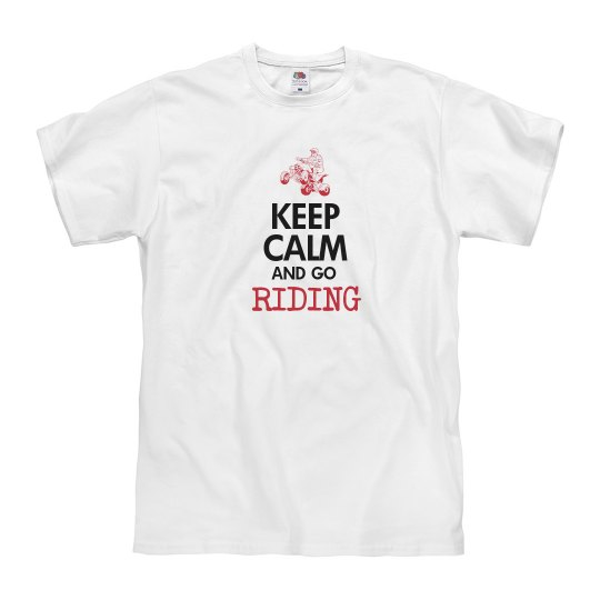 keep calm & go riding