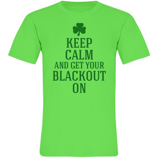 Keep Calm and Blackout
