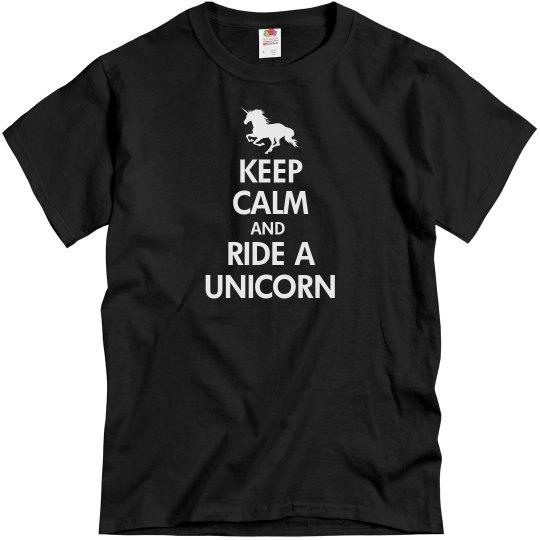 Keep Calm And Unicorn
