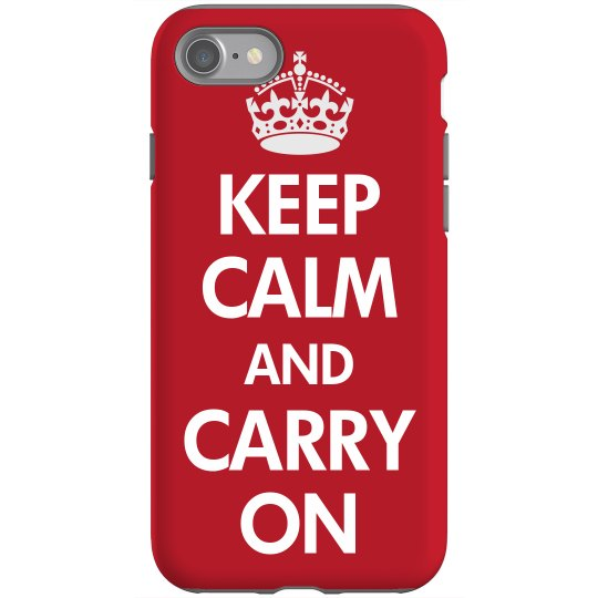 Keep Calm Case