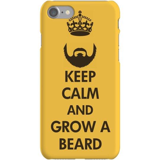 Keep Calm Grow A Beard
