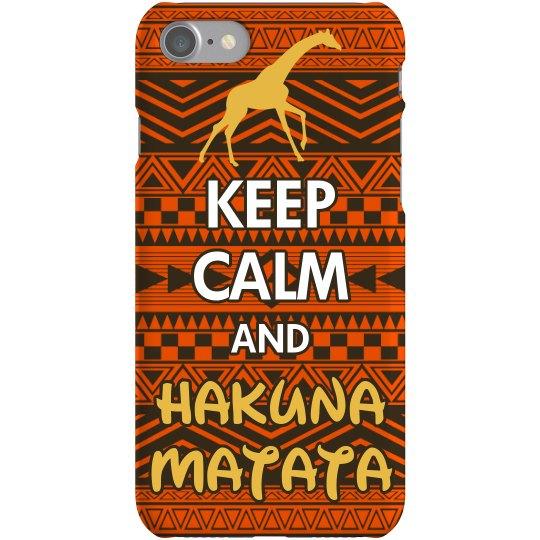 Keep Calm Hakuna Matata