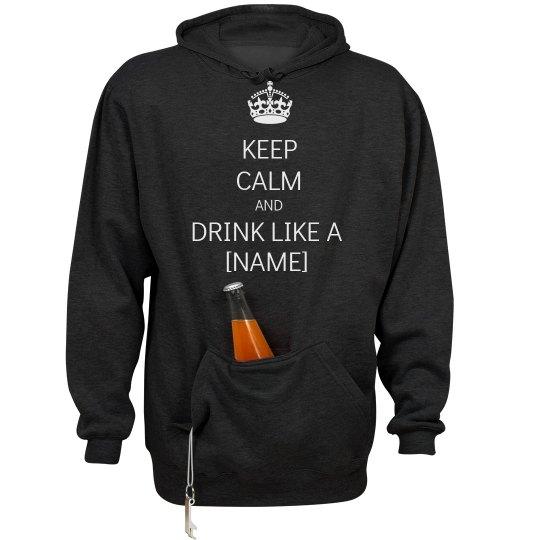 Keep Calm Pocket Beer