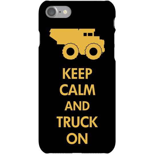 Keep Calm Truck On