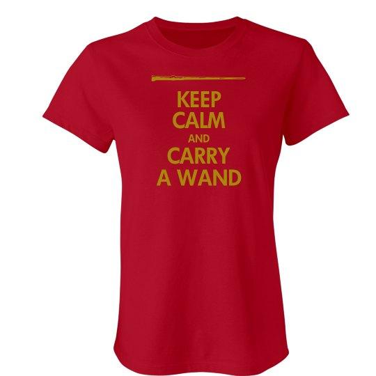 Keep Calm Wand