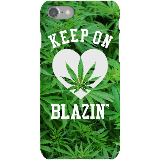 Keep On Blazin' Trendy Phone Case