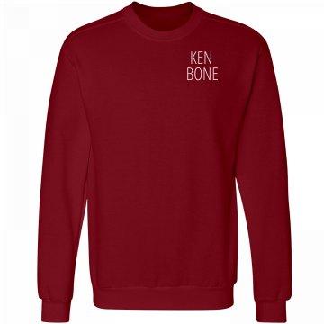 Ken Bone Red Sweater