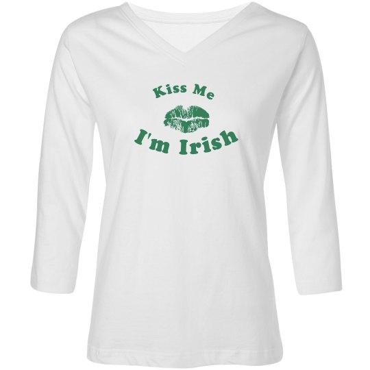 Kiss Me, I'm Irish Ladies