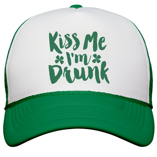 Kiss Me St Pattys Drunk