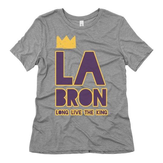 LA Bron King James Los Angeles