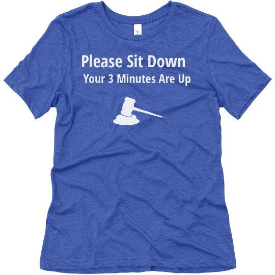 Ladies- Please Sit Down