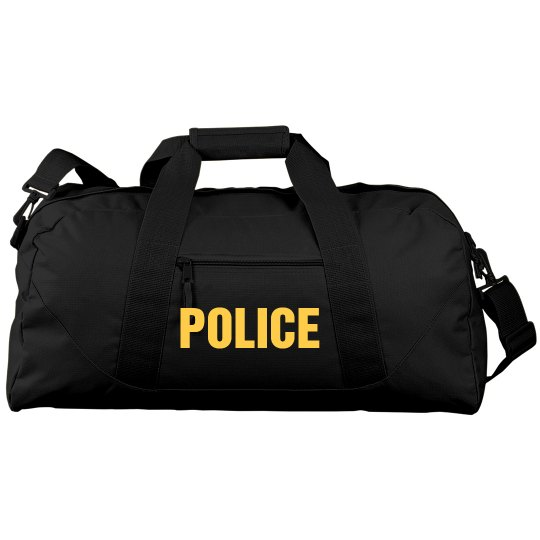 Large Police Duffel