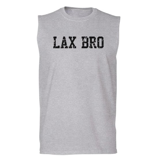 Lax Bro Distressed Tee