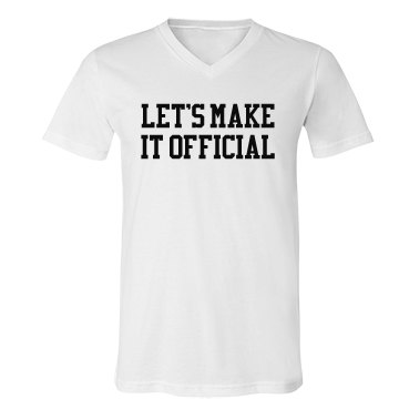 Let's Make It Official