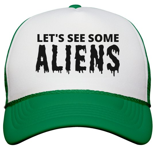 Let's See The Aliens Hat