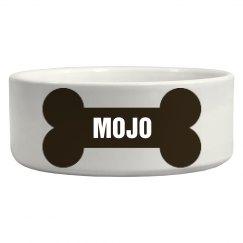 Mojo Bone Dog Dish