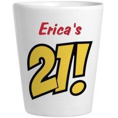 Erica's 21 - Birthday Shots
