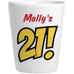 Molly's 21 - Birthday Shots