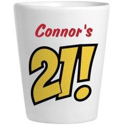Connor's 21 - Birthday Shots