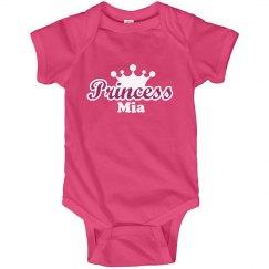 Princess Mia Onesie