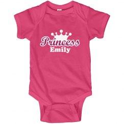Princess Emily Onesie