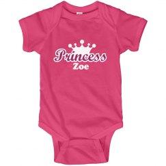 Princess Zoe Onesie