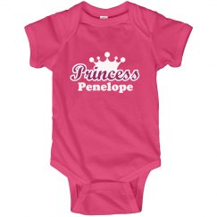 Princess Penelope Onesie