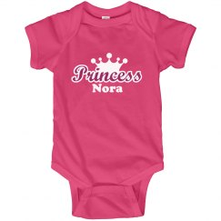 Princess Nora Onesie