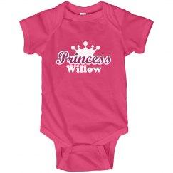 Princess Willow Onesie