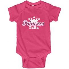 Princess Talia Onesie