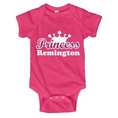 Princess Remington Onesie