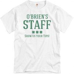 O'Brien's Irish Pub Staff