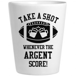 Take A Shot Whenever Argent Score