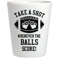 Take A Shot Whenever Balls Score