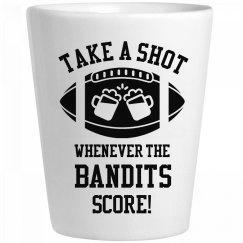 Take A Shot Whenever Bandits Score