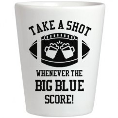 Take A Shot Whenever Big Blue Score
