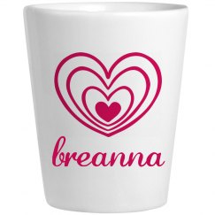 Cute Breanna With Hearts