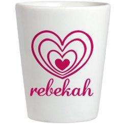 Cute Rebekah With Hearts