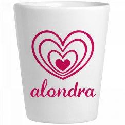 Cute Alondra With Hearts