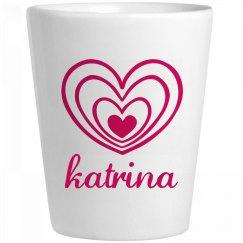 Cute Katrina With Hearts