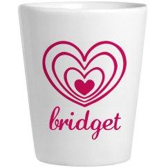 Cute Bridget With Hearts